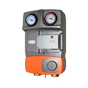 Насосная группа BRV M2 MIX33 20555R-M33-RSG8 с 3-х ходовым смесительным клапаном, 0-50% by-pass, 2 линии, фото 2