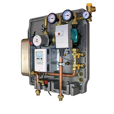 Насосный высокоэффективный модуль для нагрева бака-накопителя BRV Solo 1 Basic, WiloStar RSG25/8, фото 2
