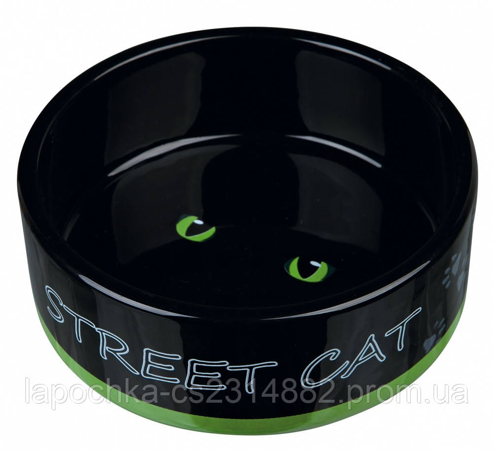"Trixie Миска керамическая ""Street Cat"""