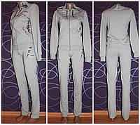 Женский трикотажный спортивный костюм р 38-50