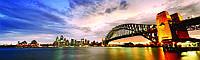 Скинали Австралия - Стеклянный кухонный фартук