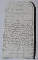 Чехол-книжка Croco Classic White Nokia Lumia 510 (шт.)