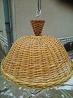 Люстра плетеная