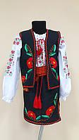 Прокат украинский костюм для девочки р.116-128см