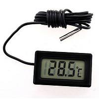 Термометр цифровой с выносным датчиком -50 ~ + 110 °C
