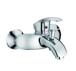 Смеситель для ванны Haiba Mars с коротким литым гусаком