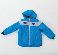 Детская  модная куртка на холодную осень аналог Benetton , Бенеттон от отечественного производителя, фото 1