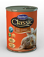 Butcher`s (Бутчерс) Classic консервы с говядиной для кошек, 400 гр.
