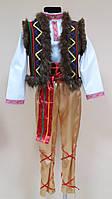 Прокат украинский гуцульский костюм для мальчика, р.125-130см