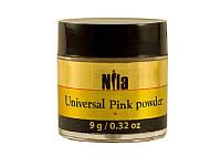 Nila Пудра акриловая розовая Pink Builder 9 г.