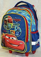 """Рюкзак на колесах """"Тачки""""  (модель 551615), ТМ """"1 вересня"""""""