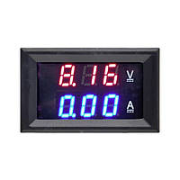 Цифровой вольтметр-амперметр  DC 0-100 В . 0-10A