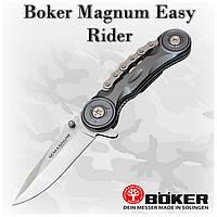 Нож Boker Magnum Easy Rider (01SC529), 440A, клипса, флипер