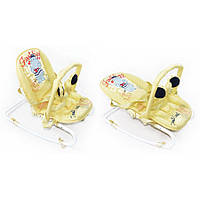Детский шезлонг-качалка Baby Tilly BT-BB-0001 BEIGE