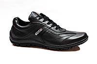 Туфли ECCO comfort кожа прошивные