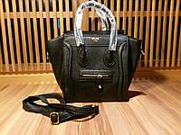 Celine luggage mini черная