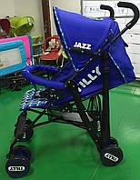 Детская Коляска-трость TILLY Jazz BT-SB-0008 DARK BLUE