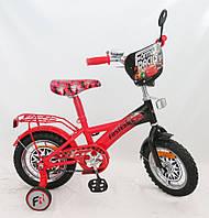 """Детский велосипед """"Тачки"""" 2-х колесный 12"""" 151220"""