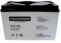 Аккумулятор AGM - 120 Ач, 12В гелевый Challenger A12-120