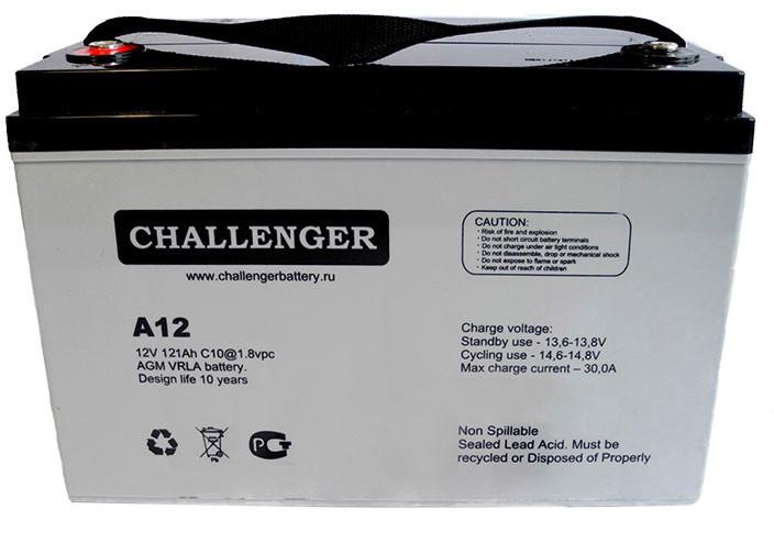 Аккумулятор AGM - 150 Ач, 12В гелевый Challenger A12-150