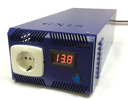 Бесперебойник ФОРТ T300 - ИБП (12В, 0,3/0,6кВт) - инвертор с чистой синусоидой