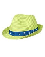 Детская соломенная шляпа . 4-6 лет