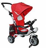 Детский трехколесный велосипед AC-2 (2383) каучуковые колеса