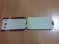 Чехол-флип Vetti Craft Slim Flip Diamond для Samsung i8262 Galaxy Core красный в ромбах