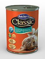 Butcher`s (Бутчерс) Classic консервы с океанической рыбой для кошек, 400 гр.