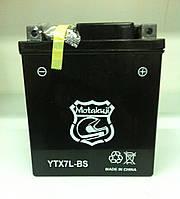 АКБ Motakuji YTX7L-BS AGM   гелевый (черный)   113 x 70 x 130