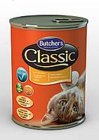 Butcher`s (Бутчерс) Classic консервы с курицей для кошек, 400 гр.
