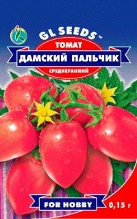 Семена томат Дамский пальчик H=0,8-1м. до 140 г.