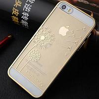 """Золотой чехол """"Одуванчик"""" для Iphone 5/5S , фото 1"""