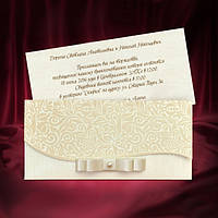 Пригласительные с бархатным тиснением, оригинальные свадебные приглашения, печать текста, заказать