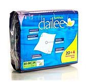 Dailee пеленки гигиенические  Plus 60*90 (24 шт) дейли