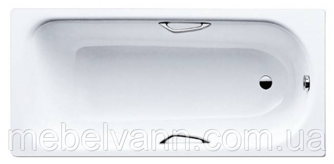 Ванна стальная с ручк SANIFORM PLUS STAR 1700X750 3.5mm