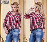 Женская стильная рубашка ДГр0138, фото 1