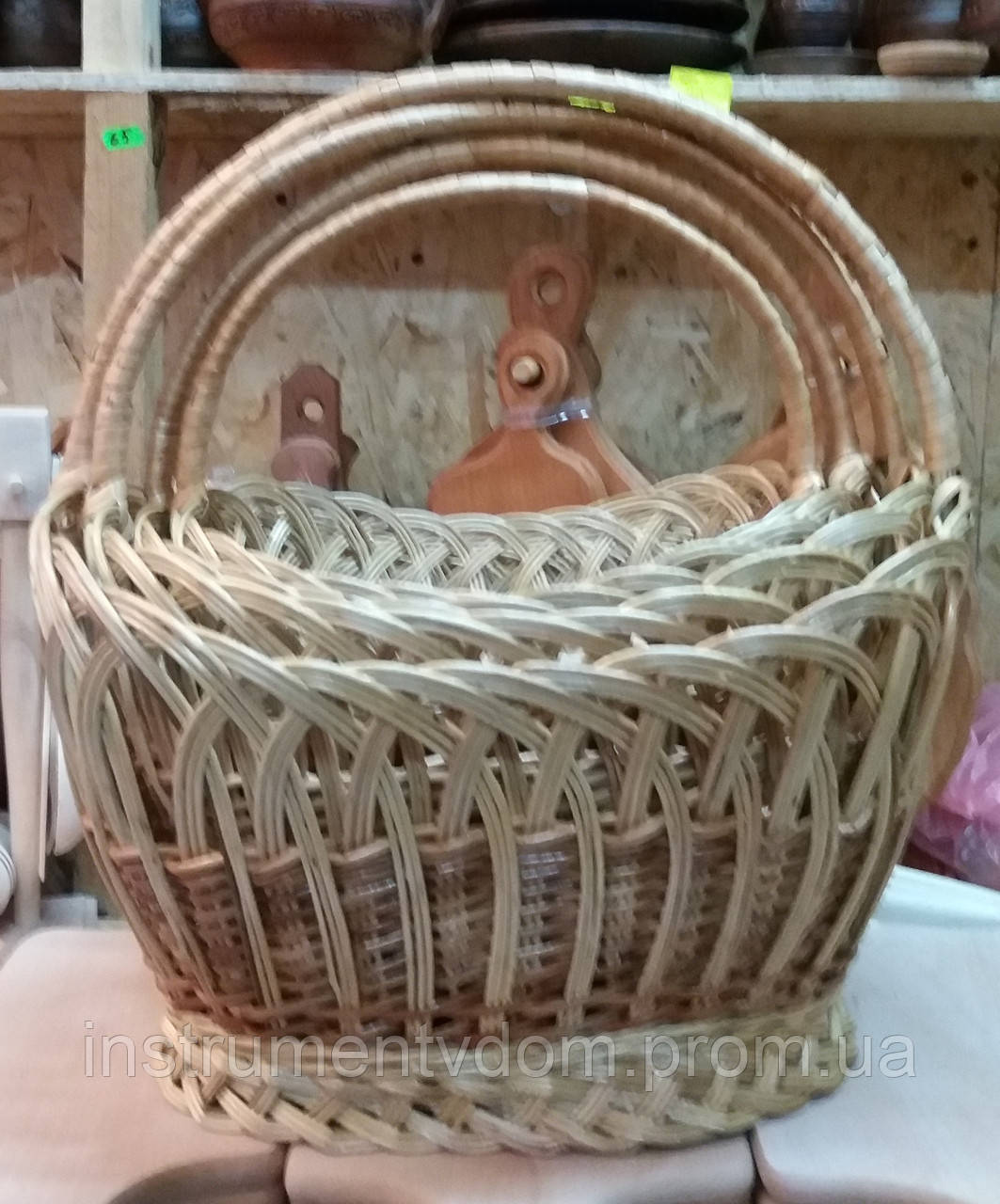 "Корзина плетеная ""Рыбак"" (набор 4 шт)"