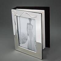 """Свадебный фотоальбом """"2 сердца"""" на 96 фото"""