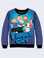 Cвитшот FAMILY GUY; XXS, XS, S, M, L, XL