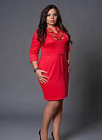 """Женское платье с вышивкой - """"Мальва""""  код 229"""