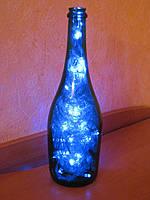 Декоративные изделия из бутылок