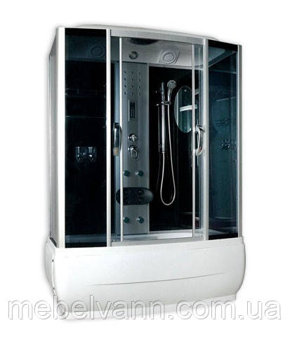Гидробокс Vivia VA-168 1500х800 с глубоким поддоном с электроникой