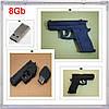 USB- флешка Пистолет Револьвер флеш память накопитель