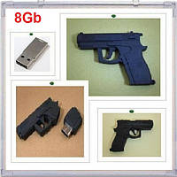USB- флешка Пистолет Револьвер флеш память накопитель, фото 1