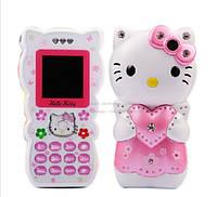 Телефон для модницы Hello Kitty К689 на 2 сим-карты хелло китти