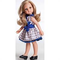 Кукла Карла в платье в горошек Paola Reina. 32см