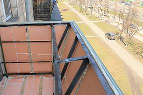Внутреннее утеппение балкона