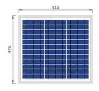 Солнечная батарея 30Вт / 12В  (поликристаллическая)  PLM-030P-36
