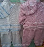 Детский костюм-тройка  Малыш,рост 62 см-68 см S164
